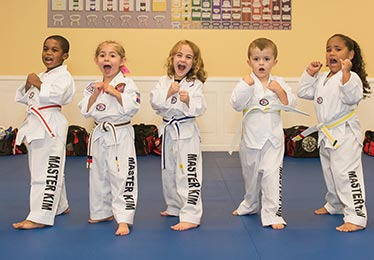 Little Tigers preschool martial arts classes