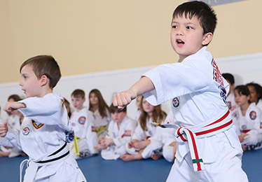 Little Tigers preschool martial arts tae kwon do